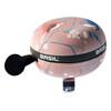 Basil Big Bell Wanderlust fietsbel roze/bont